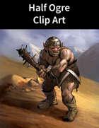 Half Ogre Clip Art