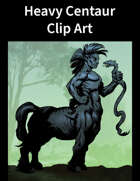 Heavy Centaur Clip Art
