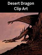 Desert Dragon Clip Art