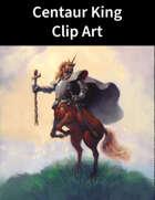 Centaur King Clip Art