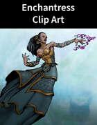 Spellcaster Enchantress Clip Art