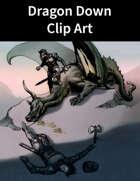 Dragon Down Clip Art