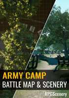 Army Camp Battlemaps & Scenery