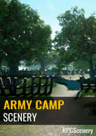 Army Camp Scenery