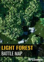 Light Forest Battlemaps