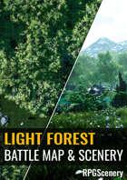 Light Forest Battlemaps & Scenery