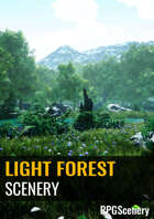 Light Forest Scenery
