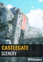 Castle Gate Scenery