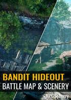 Bandit Hideout Battlemaps & Scenery