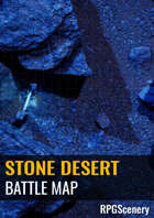 Stone Desert Battlemaps