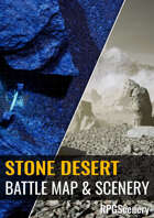 Stone Desert Battlemaps & Scenery