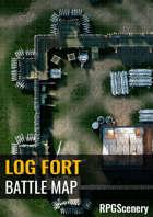 Log Fort Battlemaps