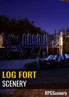Log Fort Scenery