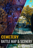 Cemetery Battlemaps & Scenery
