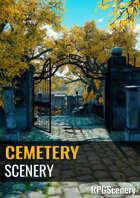 Cemetery Scenery