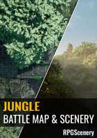 Jungle Battlemaps & Scenery