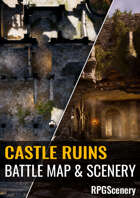 Castle Ruins Battlemaps & Scenery