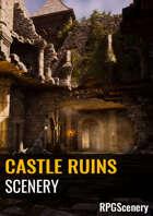 Castle Ruins Scenery