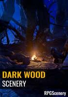 Dark Wood Scenery