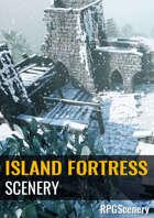 Island Fortress Scenery