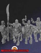 Tribal Centaurs x4 (STL)
