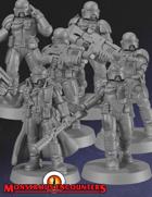 Imperial Arbiters Set 1 (STL)