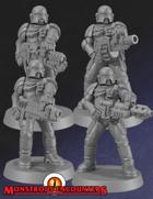 Imperial Arbiters SP Weapons (STL)
