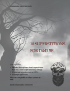 10 Superstitions for DnD 5e