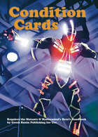 Mutants & Masterminds 3e - Condition Cards, GM 3-Pack