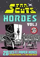 StarCuts: HORDES Vol. 1 (w/VTT assets)