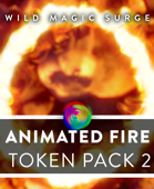 Animated VTT Fire Spells - Token Pack 2