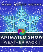 Animated VTT Snow - Token and Weather Pack 1