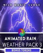 Animated VTT Rain - Weather Pack 3