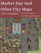 Market Day And Other City Maps