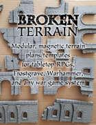 Modular magnetic terrain (plans+templates)
