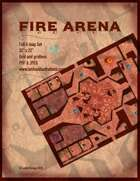Fire Arena Battle Map Full Four Map Set