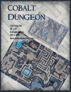 Cobalt Dungeon Battle Map Full Four-Map Set
