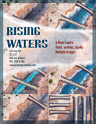Rising Waters Battle Map Full Eight Map Set