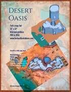 Desert Oasis Battle Map Full Eight Map Set