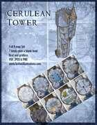 Cerulean Tower 7 level Eight Map Battle Map Set