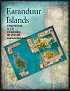 Earanduur Islands Map Set with Boat Assets