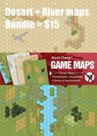 Desert + River Maps Bundle