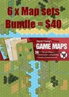 6 X Map Sets Bundle