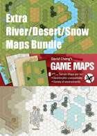 Extra River/Desert/Snow Map Bundle (R3, R4, D5, D6, S5, S6, E9, E10)