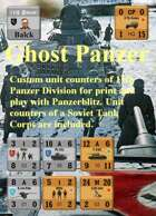 Custom Panzerblitz counters for 11th Panzer & 3rd Tank Corps
