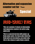 Alternative & expansion counter set for AIW Special edition