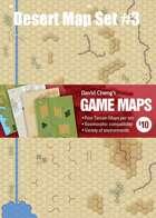 Desert Map set #3  (D9, D10, D11 & D12)