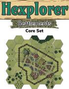Hexplorer Settlements: Core Set