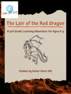 The Lair of the Red Dragon: Learning Adventure for ages 8-9 (3rd Grade)