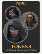 NPC Tokens / Characters of Color 2